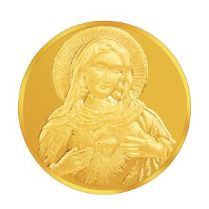 Augmont 10GM Jesus Christ Embossed Coin