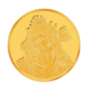 Augmont 10GM Jesus Christ Coin
