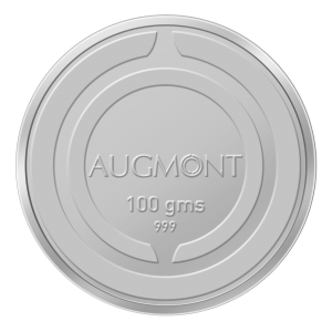 Augmont 100Gm Silver Coin (999 Purity)