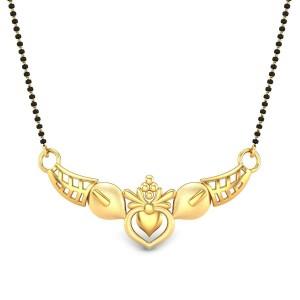 Seraphina Gold Mangalsutra Pendant