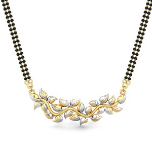 Emery Gold Mangalsutra Pendant
